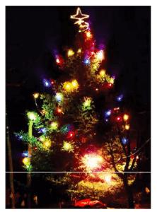 Encesa dels llums a Sant Miquel