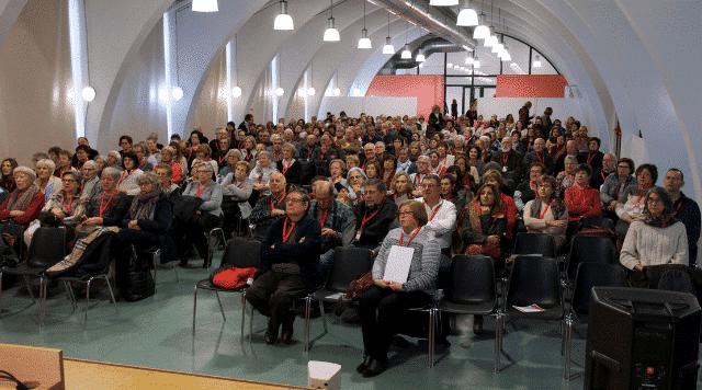 L'Obrador de Pla de l'Estany presentat a la VII Trobada de Càritas